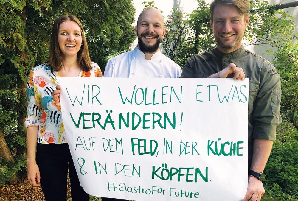 Greentable startet Aktionswochen unter #GastroforFuture
