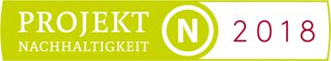 Auszeichnung Projekt Nachhaltigkeit 2018