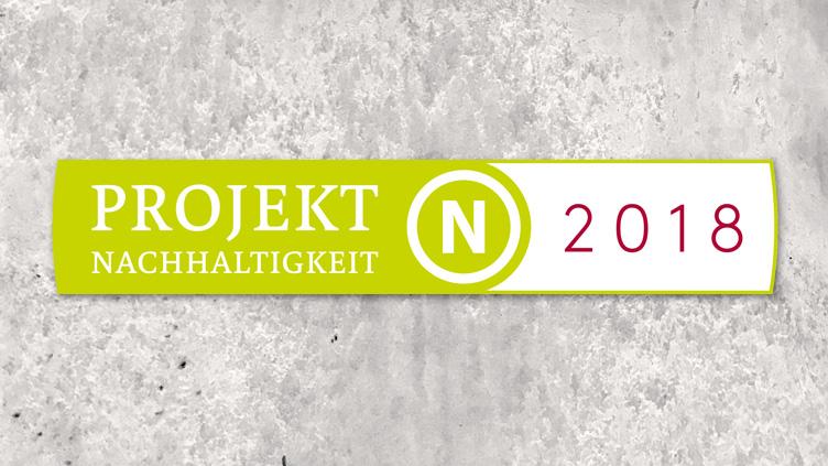 """Greentable als """"Projekt Nachhaltigkeit 2018"""" ausgezeichnet"""